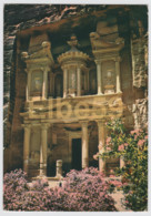 Jordanie, Petra, La Khazneh Ou Khasné, écrite - Giordania
