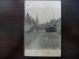 CPA - Elverdinghe - Ingang Van 't Dorp -  Tram - Callewaert - Ypres - 137 - Non Circulée - Ieper