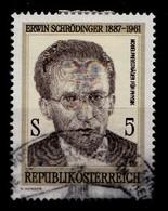 Autriche 1987 Mi.Nr: 1892 Geburtstag Von Erwin Schrödinger  Oblitèré / Used / Gebruikt - 1945-.... 2nd Republic