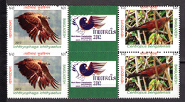 BIRDS - 2012 - BANGLADESH -  Mi.. Nr.  1093/1094 - NH - (CW4755.29) - Bangladesh