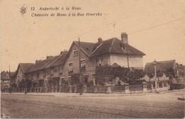 BRUXELLES BRUSSEL ANDERLECHT - 1920 - Anderlecht A La Roue - Chaussée De Mons A La Rue Hoorykx - Anderlecht