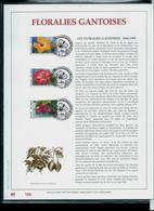 Feuillet OR Du N° 2589/91  Floralies Gantoises 1995  Obl. Saint - Hubert 04/03/95 - 1985-.. Oiseaux (Buzin)