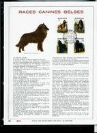 Feuillet OR Du N° 2213/16   Races Canines Belges    Obl. Thuin 24/05/1986 - 1985-.. Oiseaux (Buzin)