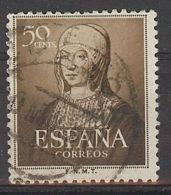 Espa�a-Spain. Isabel La Cat�lica (o) - Ed 1092, Yv=781, Sc=815, Mi=989 - 1931-Hoy: 2ª República - ... Juan Carlos I