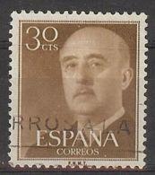 Espa�a-Spain. Franco. Serie General (o) - Ed 1147, Yv=819 - 1931-Hoy: 2ª República - ... Juan Carlos I