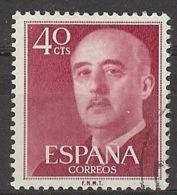 Espa�a-Spain. Franco. Serie General (o) - Ed 1148, Yv=820 - 1931-Hoy: 2ª República - ... Juan Carlos I
