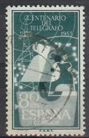 Espa�a-Spain. Centenario Del Telegrafo (o) - Ed 1181, Yv=840, Sc=874, Mi=1666 - 1931-Hoy: 2ª República - ... Juan Carlos I
