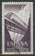 Espa�a-Spain. Congreso Ferrocarriles (o) - Ed 1233, Yv=888, Sc=922, Mi=1130 - 1931-Hoy: 2ª República - ... Juan Carlos I