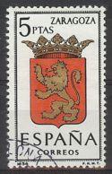 Espa�a-Spain. Zaragoza (o) - Ed 1701, Yv=1094D - 1961-70 Usados
