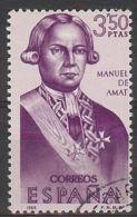 Espa�a-Spain. Manuel De Amat I Jun (o) - Ed 1756, Yv=1383, Sc=1411, Mi=1651 - 1961-70 Usados