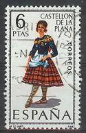 Espa�a-Spain. Castell� (o) - Ed 1778, Yv=1403 - 1961-70 Usados