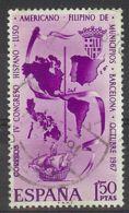 Espa�a-Spain. Congr�s De Municipis (o) - Ed 1818, Yv=1487, Sc=1477, Mi=1710 - 1961-70 Usados
