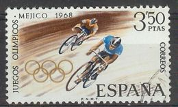 Espa�a-Spain. Juegos Ol�mpicos Mexico (o) - Ed 1887, Yv=1545, Sc=1547, Mi=1779 - 1961-70 Usados