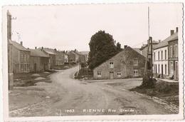 Rienne - Rue Grande - Circulé - Mosa 1893 - Gedinne