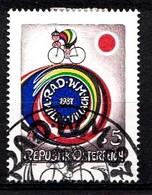 Autriche 1987 Mi.Nr: 1897 Rad-Weltmeisterschaften  Oblitèré / Used / Gebruikt - 1945-.... 2nd Republic