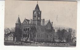 états-unis - Richland Center - Court-house And Jail - Etats-Unis