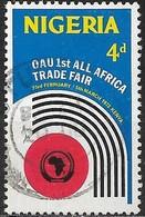 NIGERIA 1972 All-Africa Trade Fair - 4d. Trade Fair Emblem FU - Nigeria (1961-...)
