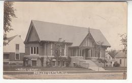 états-unis - Richland Center - Public Library - Etats-Unis