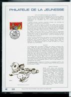 Belgique : Feuillet OR Du N° 2619 : Bande-Dessinée: Raoul Cauvin   - Sammy  Obl.  Halanzy  07/10/95 - Comics