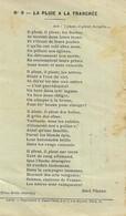 Carte Postale Franchise Militaire Avec Poème De Jean VEZERE - Marcophilie (Lettres)