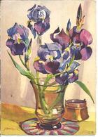 ILLUSTRATEUR J. PHILIPPE - Bouquet D'Iris - N° 2088 - Illustrateurs & Photographes