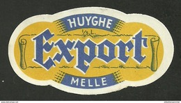 ETIQUETTE BIERE BR. HUYGHE / EXPORT - 9090 MELLE - Beer