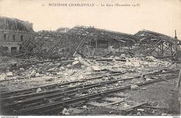 8-MEZIERES-CHARLEVILLE-RUINES DE LA GARE-N°518-C/0023 - France