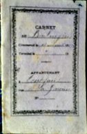 BOULANGER  METIER CARNET DE COMPTE MANUSCRIT DES DETTES DUES AU BOULANGER 1883 - Andere Sammlungen