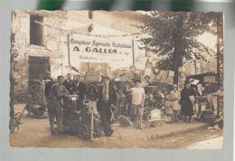 Carte Photo  (37) Richelieu - Comptoir Agricole Richelais - A. Gallon - Matériel Agricole - Foire De Loudun 1927 (?) - France