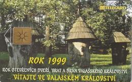 REPUBLICA CHECA. Middle Moravian Outdoor Museum. C275C, 15/03.99. (144) - República Checa