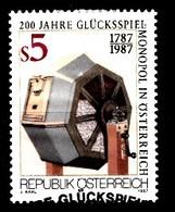 Autriche 1987 Mi.Nr: 1904  200.Jahre Glücksspiel....  Oblitèré / Used / Gebruikt - 1945-.... 2nd Republic