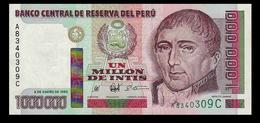 # # # Banknote Peru 1.000.000 Intis 1990 UNC # # # - Peru