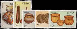 Kenya 1988 Kenyan Material Culture Unmounted Mint. - Kenya (1963-...)