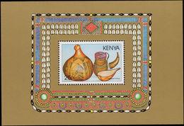 Kenya 1988 Kenyan Material Culture Souvenir Sheet Unmounted Mint. - Kenya (1963-...)