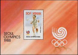 Kenya 1988 Olympic Games Souvenir Sheet Unmounted Mint. - Kenya (1963-...)