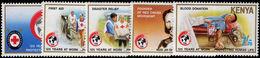 Kenya 1989 Red Cross Unmounted Mint. - Kenya (1963-...)