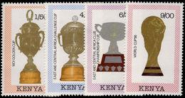 Kenya 1990 World Cup Football Unmounted Mint. - Kenya (1963-...)