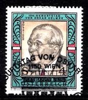 Autriche 1987 Mi.Nr: 1906  Geburtstag Von Oskar Helmer  Oblitèré / Used / Gebruikt - 1945-.... 2nd Republic