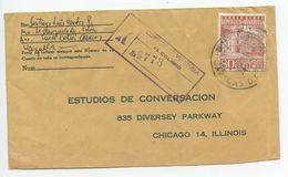 Venezuela 1963 Registered Cover Caracas To Chicago Illinois - Venezuela