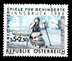 Autriche 1988 Mi.Nr: 1910 Weltwinterspiele Für Behinderte  Oblitèré / Used / Gebruikt - 1945-.... 2de Republiek