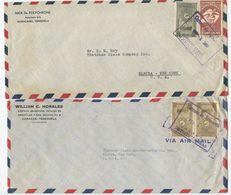 Venezuela 1950's-60's 6 Airmail Covers Maracaibo, Caracas, Matanzas To U.S., Mix Of Stamps - Venezuela
