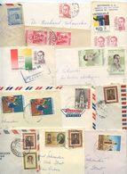 Venezuela 1950's-70's 12 Covers To U.S, Mix Of Stamps & Postmarks - Venezuela