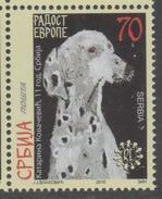 SERBIA ,2016, MNH, JOY OF EUROPE, DOGS,1v - Dogs