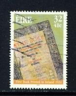 IRELAND  -  2001  Marsh Library  32c  Used As Scan - 1949-... Republic Of Ireland