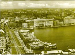 Hamburg Amburgo - Jungfernstieg - Binnen,1967 - ITALIA - Altri