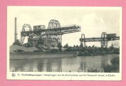 C.P. Eisden  = Draagbruggen  Van De Steenkoolmijn Aan  Het Kempisch Kanaal - Maasmechelen