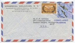 El Salvador 1971 Airmail Cover San Salvador To U.S., Scott C223 & C302  International Cooperation Year & Fish - El Salvador