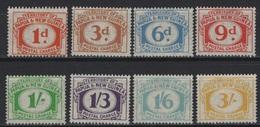 Papua New Guinea (1960) Yv. Tx. 6/13 - Papouasie-Nouvelle-Guinée