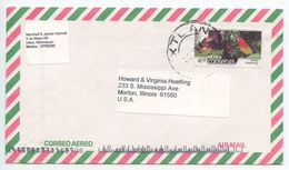 Mexico 2000's Airmail Cover Ixtlan, Michoacan To Morton IL, Scott 2265 Conservation - Mexico