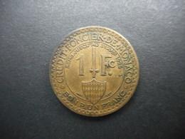 Monaco 1 Franc 1924 Louis II - Monaco
